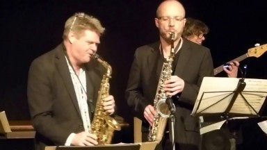 """Sticky Finger Boogie"" by SAX APPEAL at The SHIP Theatre Sevenoaks 2016"
