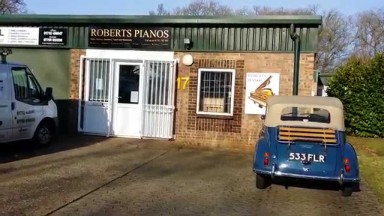 Roberts Pianos Sevenoaks showroom and Renner workshop
