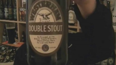 Westerham Brewery - Double Stout - HopZine Beer Review