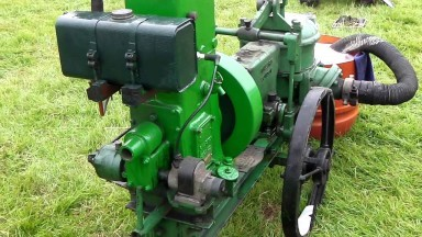 Stationary engines at Wrotham steam & classic rally 2015
