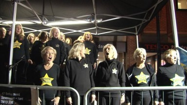 Rock Choir Sevenoaks Fireworks Something Inside so Strong