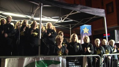 Rock Choir Sevenoaks Fireworks You're the Voice