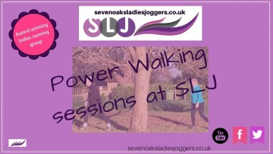 Power Walking with Sevenoaks Ladies Joggers