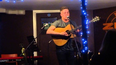 Tom Haacke at The Zed Music Cafe, Sevenoaks - Open Mic