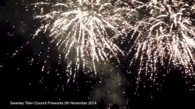 Fireworks Night 2014 at Swanley Town Council