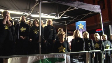 Rock Choir Sevenoaks Fireworks Proud