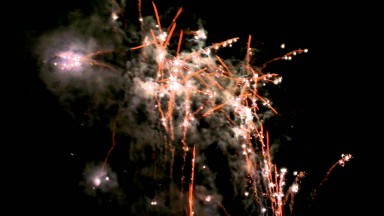 Sevenoaks Round Table Fireworks Display.